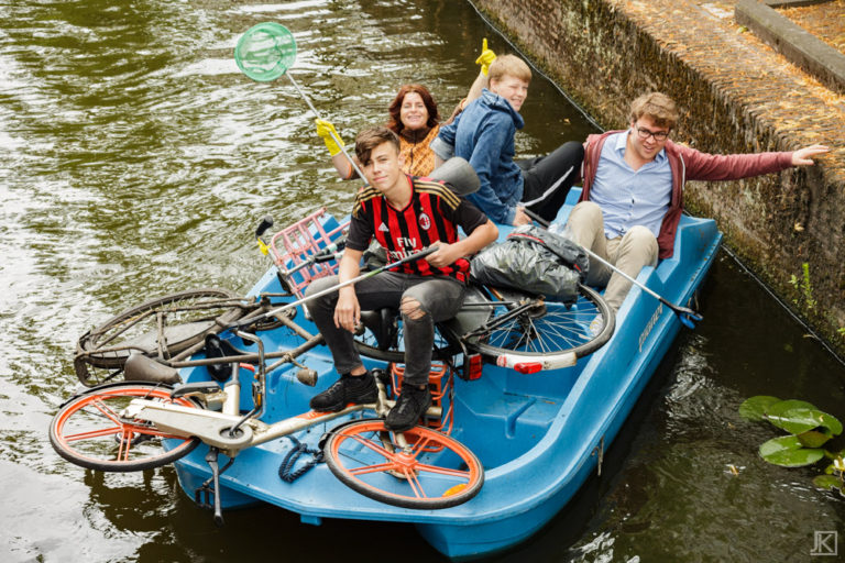 Canal Cleanup Delft 2019
