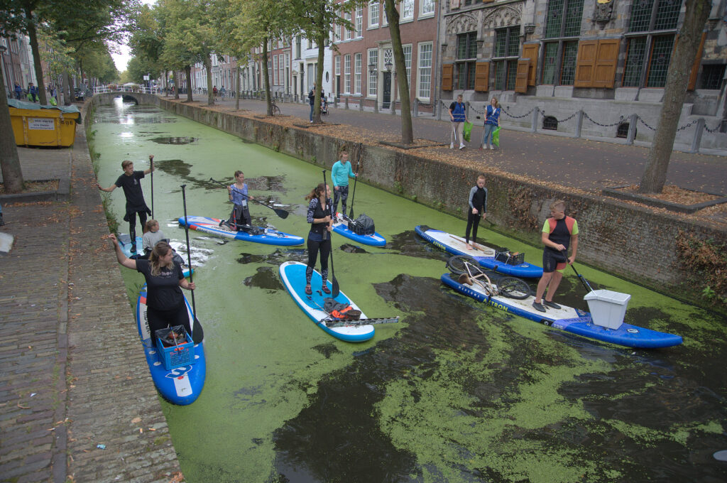 Canalcleanup Delft